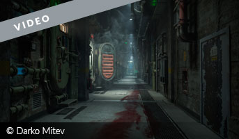 Darko Mitev the experiment 3D contest