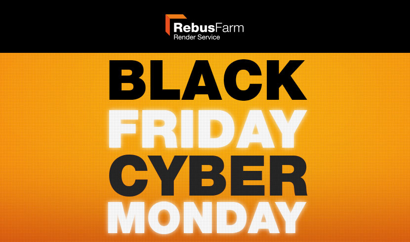 RebusFarm Black Friday 2017
